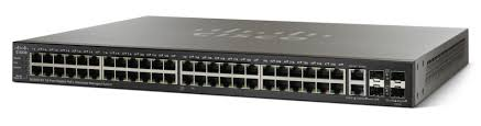Коммутатор Cisco SG500-52MP-K9-NA